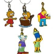Simpson Key Rings, Genuine Key Rings Choice of Designs